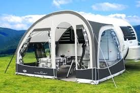 Second Hand Awnings For Caravans 2007 Dethleffs Sited Caravan With Awning For Sale On Camping
