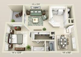 1 bedroom floor plans the most northwest gainesville apartment floor plans with one