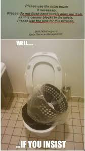 Meme Toilet - toilet humour nest expressed