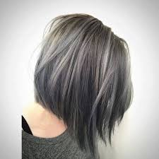 hoghtlighting hair with gray 35 smoky and sophisticated ash brown hair color looks