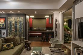 Brazilian Interior Design by Celeno Ivanovo Designs A Vibrant Top House Full Of Character In