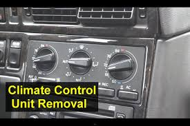 volvo ecc electronic climate control unit removal 850 s70 v70