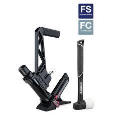 husky pneumatic 16 gauge flooring nailer stapler hdufl50 the