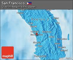 san francisco quezon map free political map of san francisco