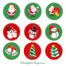 free christmas cake topper printable gift ideas blog