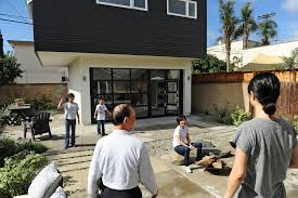 family compound house plans creating a family compound with plenty of privacy la times