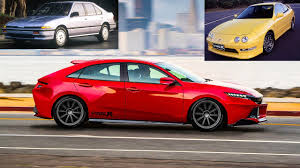 Honda Civic Usa 2018 Acura Integra Type R Concept Similar To Honda Civic Type R