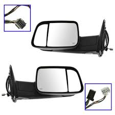 dodge ram tow mirror glass replacement dodge ram flip up tow mirrors at auto parts