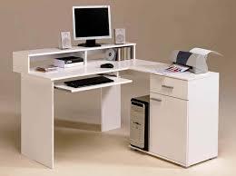 White Computer Desks For Home White Computer Desks For Office Desk Design Best L Shaped