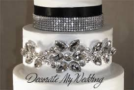 wedding cake jewelry decorate my wedding rhinestone cake buckle sparkling rhinestone