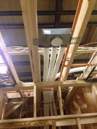 mitsubishi mini split ceiling peabody architects the mechanical system at the modular passive