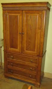 Shaker Style Armoire Consignment Home Furnishings