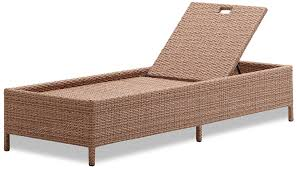 amazon com strathwood griffen all weather wicker chaise lounge