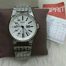 Jam Tangan Esprit Malaysia saya menjual jam tangan pria esprit es102301005 silver rantai