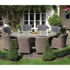 Outdoor Dining Patio Furniture by Patio 8 Person Outdoor Dining Cast Aluminum Set Metal Patio