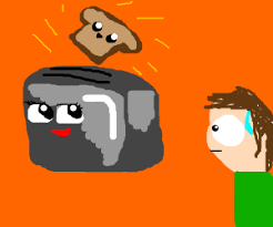 Toaster Face The Grim Toaster