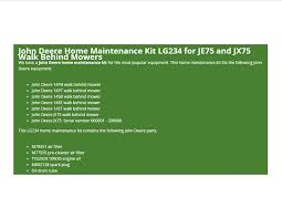 john deere jx75 mower the best deer 2017