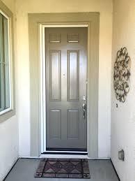 Front Doors Built A Sliding Screen Door Doubled With A Black