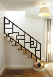 Iron Stairs Design Chic Staircase Is Fitted With Modern Iron Spindles And Covered In