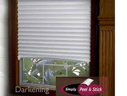 Stick On Blackout Blinds Peel N U0027 Stick Temporary Vinyl Shade View All Curtains Rods