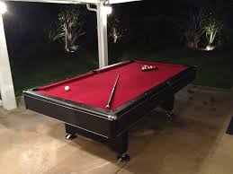 Dlt Pool Table by 8 U0027 X 4 Imperial Eliminator Pool Table W Burgundy Felt Yelp