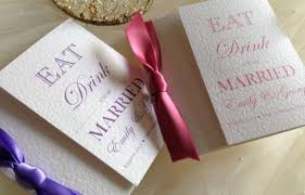 Eat Drink And Be Married Invitations Wedding Invitations Affordable Personalised Wedding Invites