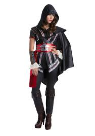 Edward Kenway Halloween Costume Assassins Creed Ezio Classic Costume Women