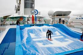Backyard Flowrider Royal Caribbean Oasis Of The Seas So Many Things To Do So Little