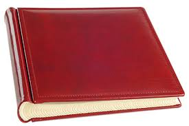 leather scrapbook italian leather scrapbook album