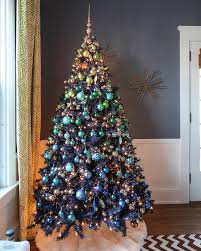 mesmerizing blue christmas tree decoration ideas christmas