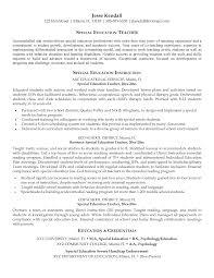 example teacher resumes sample resume for resource teacher frizzigame example teaching resume