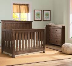 Rustic Convertible Crib Serta Northbrook Convertible Crib 5 Set Rustic Oak N
