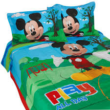 Mickey And Minnie Bed Set by Disney Mickey Mouse Clubhouse Full Comforter Set Toys