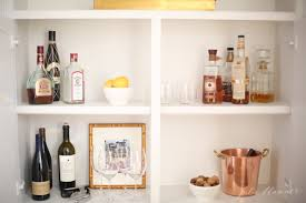 At Home Bar Home Bar Cabinet In A Bookcase