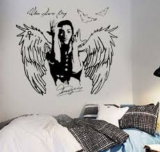 popular dove wall art buy cheap dove wall art lots from china dove wall art sticker prince decal when doves cry celebrity pop singer wall stickers for teens