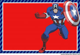 captain america free printable mini kit avengers