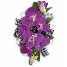 Orchid Corsage Purple Orchid Corsage