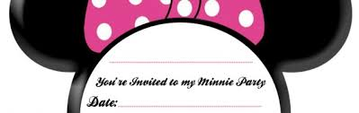 Free Printable Minnie Mouse Invitation Template by Minnie Invitations