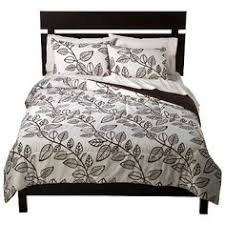Room Essentials Comforter Set Room Essentials Exploded Floral Comforter Black White W Peach