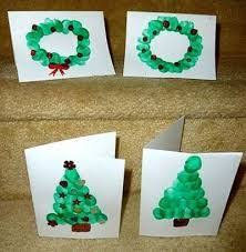 preschooler christmas cards simple bauble cards youngest child