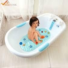 Mit Baby In Badewanne 39 Cm X 69 Cm Fisch Rutschfeste Badewanne Matte Pvc Bad