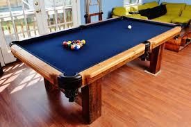 modern billiard table reclaimed barnwood custom 8 u0027 pool table