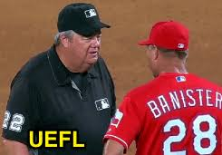 Joe Banister Mlb Ejections 169 170 Danley West 1 6 Tex Close Call