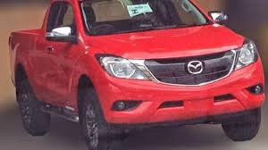 mazda truck 2015 2016 mazda bt 50 facelift spied undisguised