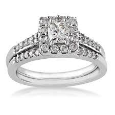 princess cut wedding set noventa diamond wedding set in white gold riddle s jewelry