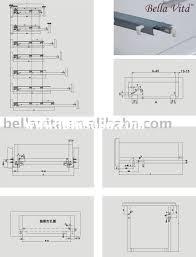 drawer sliding rails chest of drawers