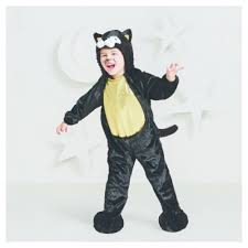 Toddler Minion Costume Toddler Plush Black Cat Costume 4t 5t Hyde And Eek Boutique