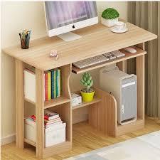 Simple Computer Desk 250619 Simple Bookcase Combination Table Computer Desk And Desk