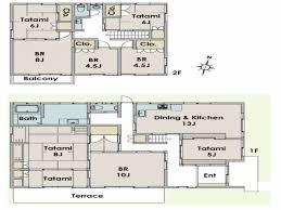 japanese house layout plan house style pinterest house