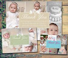 baptism thank you wording christening thank you cards ebay